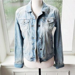 Vintage Abercrombie & Fitch Denim Jacket Size S